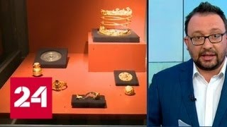 Вскрытие Нечаевой могилы: на Украине черные археологи забрались в скифский курган - Россия 24