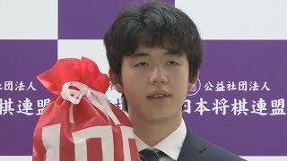 藤井七段が最速100勝 将棋、最年少で最高勝率