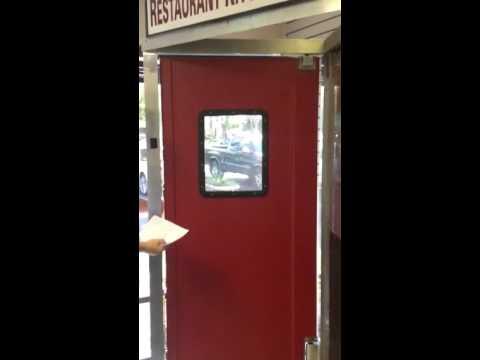 Ideal Restaurant Traffic Swinging Doors - Muscle Doors