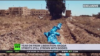 Bodies still rotting under rubble year after liberation of Raqqa