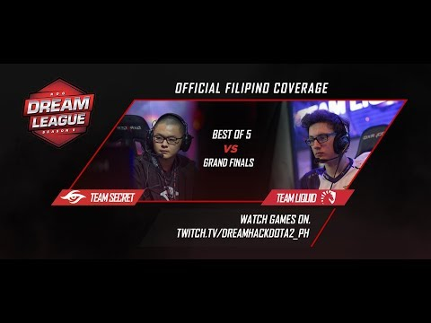 Team Liquid vs Team Secret Game 3 Grandfinals (BO5) | DreamLeague season 8
