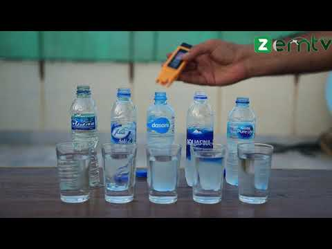 Testing Quality Of Mineral Waters | Mineral Water Vs Tap Water