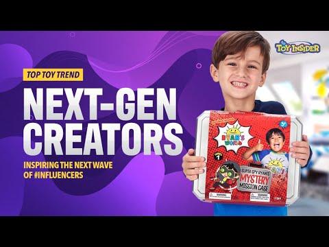 Toy Insider Top Toy Trend: Next-Gen Creators