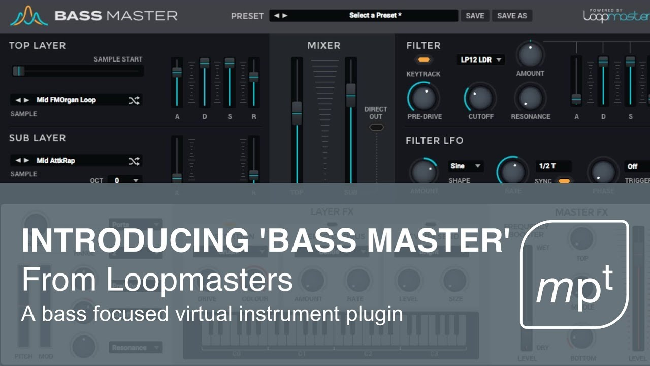 loopmasters bass master review