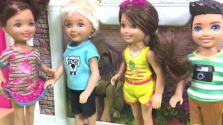 Barbie ve Ailesi Bölüm 140 - Can'ı Köpek Isırdı! - Çizgi film tadında Barbie Oyunları