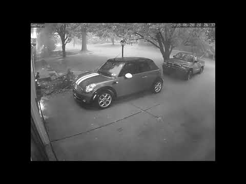 Time lapse of flood in Bethel Park PA on 6-20-18