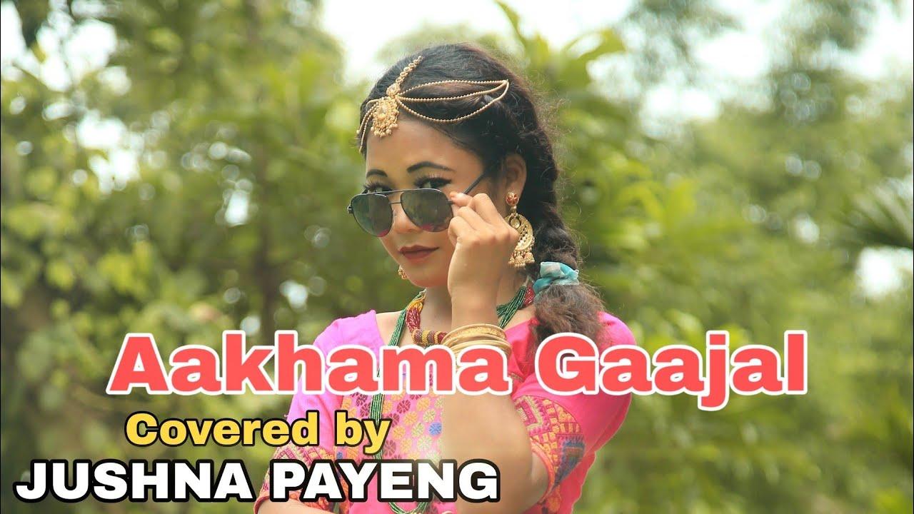 Nepali Dance Video    Aakhama Gaajal    Jushna Payeng    Dinesh Kaman
