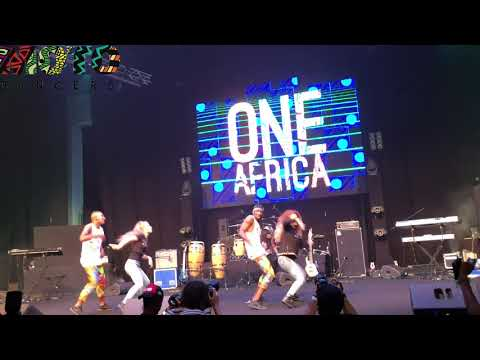 MOTO DANCERS AT ONE AFRICA MUSIC FEST DUBAI