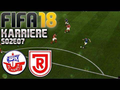 FIFA 18 KARRIERE ⚽ S02E07 • Hansa Rostock vs. Regensburg • LET'S PLAY
