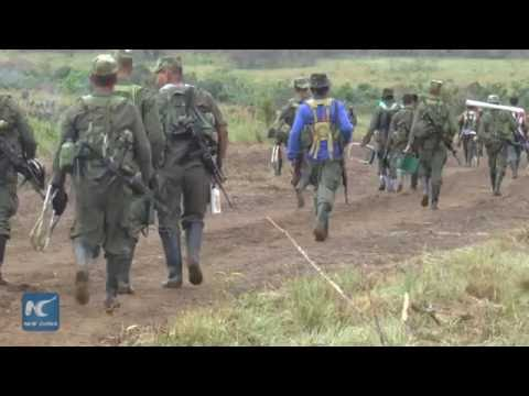 FARC Camp: gathering support for full peace accord with Colombian government