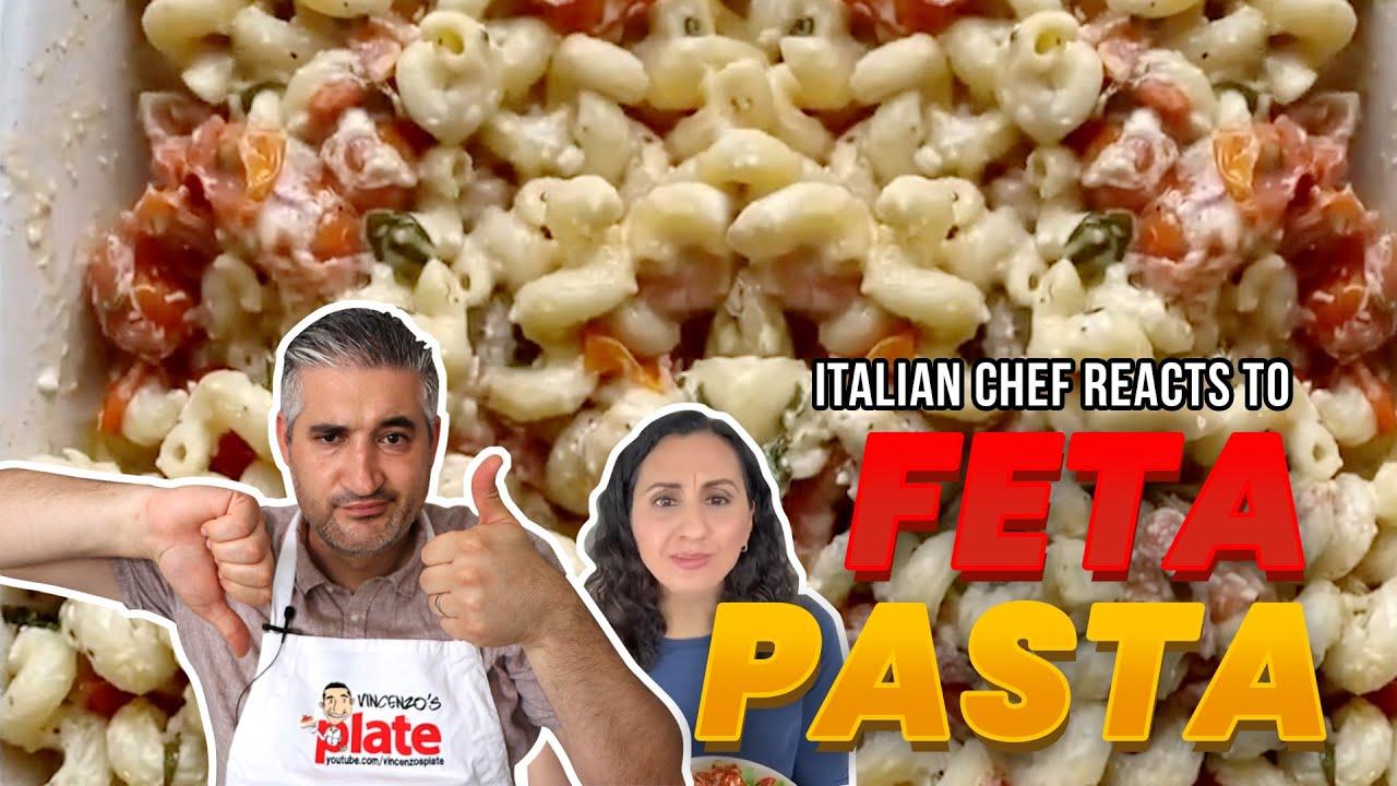 Italian Chef Reacts to TikTok Feta Pasta #Shorts