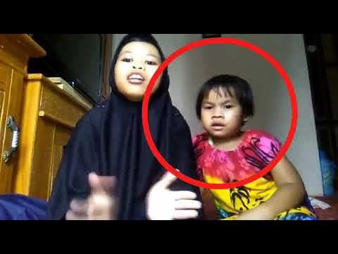 Lagu Nabi Muhammad SAW. bocah Lucu ketakutan Gledeg😂😂