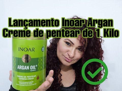 INOAR ARGAN - CREME DE PENTEAR DE 1 KILO - LANÇAMENTO