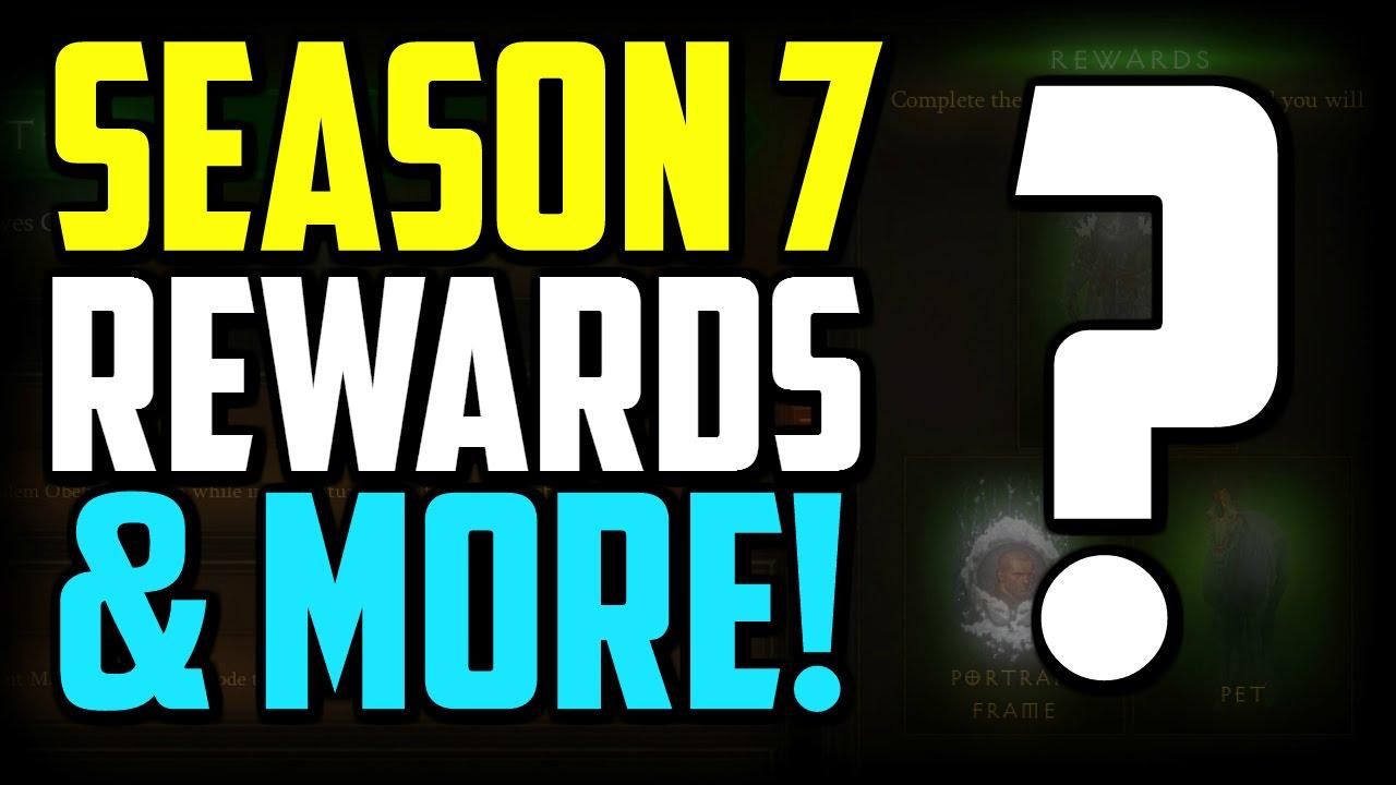 Diablo 3 Season 7 Rewards, Conquests & Haedrig Gifts! patch 2.4.2 ...