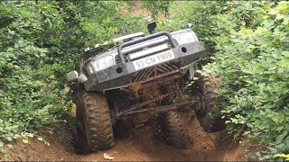 [OFF ROAD PARVA] Toyota Hilux vs Nissan Patrol