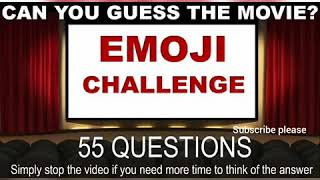 Guess the movie by emoji funny