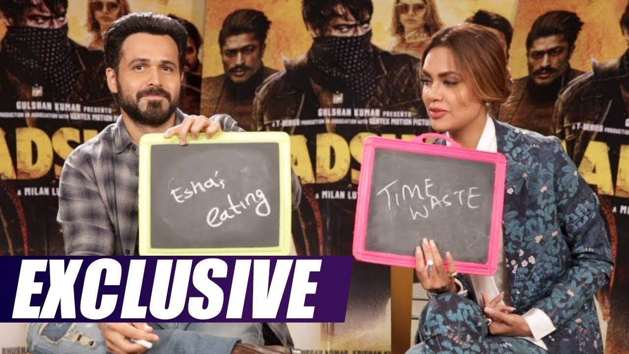 How well do you know your co-star? | Emraan Hashmi  Esha Gupta | Baadshaho