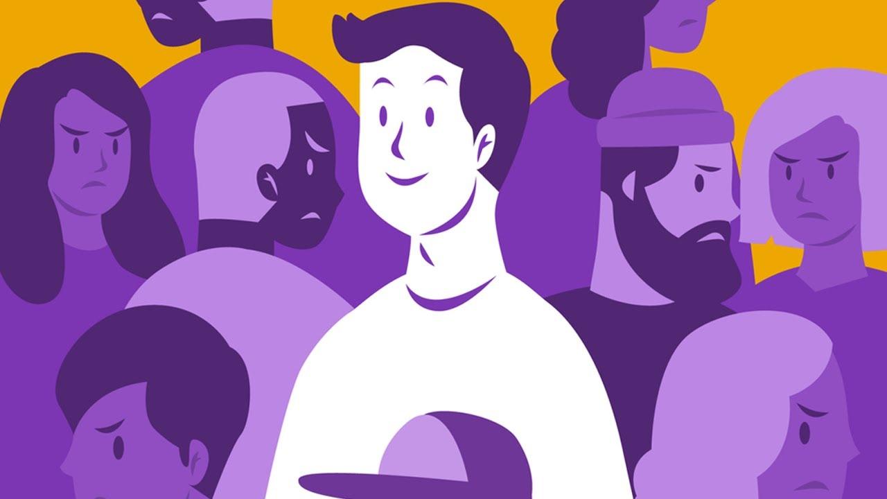 Jak społeczeństwo kształtuje charakter człowieka? Samotny Tłum