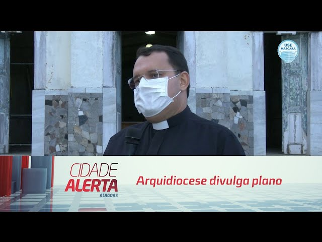 Arquidiocese divulga plano para reabertura das igrejas