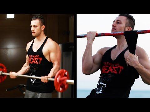 GYM vs. CALISTHENICS -  BEST Arm Exercises [HD]