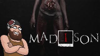 RITUALS & METAL FACE CAGES?! | MADiSON - Horror Game with me, Oshikorosu!