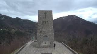 Sant'Anna di Stazzema (vista dal drone)