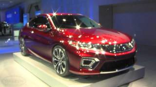 Honda Accord Coupe Concept 2013 Videos