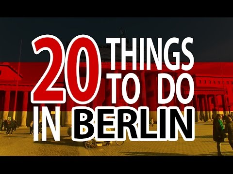 20 Things to do in Berlin | traveling 2017