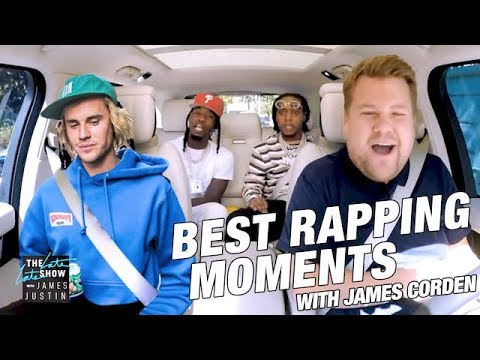 JAMES CORDEN BEST RAPPING MOMENTS
