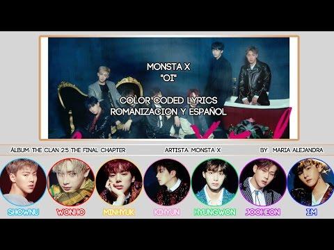 "MONSTA X (몬스타엑스) ""Oi"" [COLOR CODED] [ROM|SUBESPAÑOL LYRICS]"