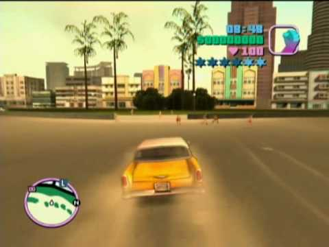 Grand Theft Auto: Vice City Xbox Gameplay - YouTube