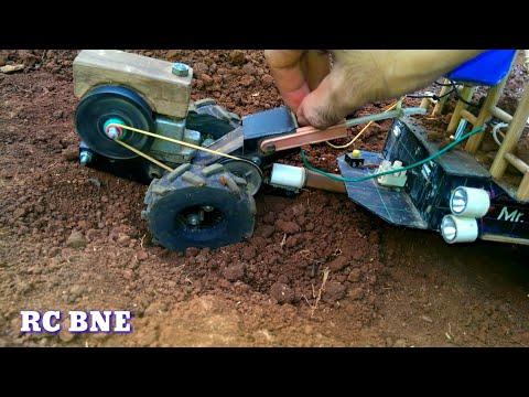 RC BNE _ Xe Công Nông Bị Kẹt (Xe đồ chơi tự chế)