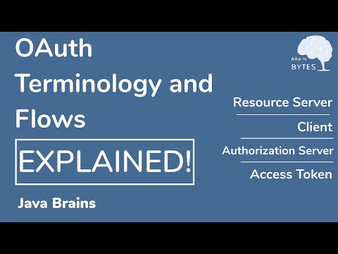 OAuth terminologies and flows explained - OAuth tutorial - Java Brains thumbnail