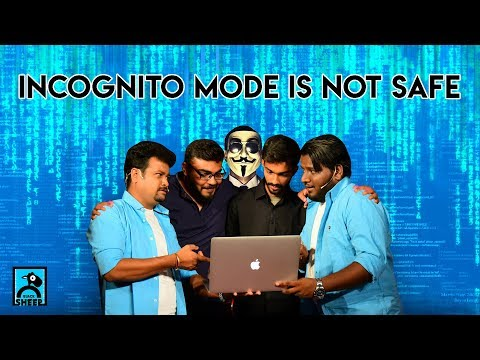 Incognito Mode is not safe  Chutti & Vicky Show  Black Sheep