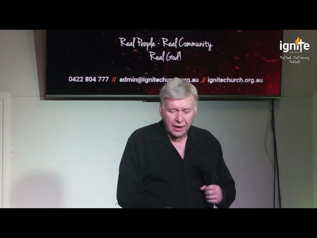 Ps Greg Biddell - Being A Missionary In Your Own Community