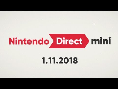 Nintendo Direct Mini 1.11.2018   LIVE Reactions With Abdallah!