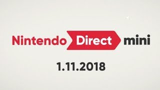Nintendo Direct Mini 1.11.2018 | LIVE Reactions With Abdallah!