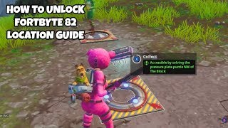 How To Unlock Fortbyte 82 Location Guide | Fortnite Season 9 Challenges
