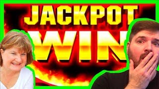 Mom Brought AMAZING LUCK With Her To The Casino! Slot Machine Winning W/ SDGuy1234