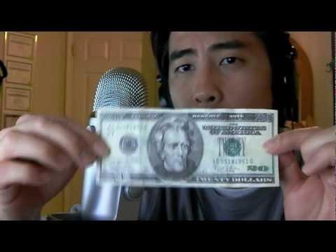 Detecting a Fake 20 Dollar BIll - YouTube