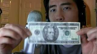 Detecting a Fake 20 Dollar BIll