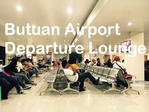 Butuan Airport Departure Terminal Lounge Mindanao by HourPhilippines.com