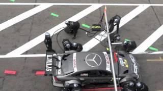 straszny wypadek na pit stopie zandvoort 2012