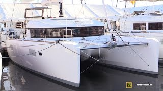 2016 Lagoon 39 Catamaran - Walkaround - 2015 Annapolis Sail Boat Show