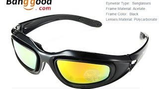 Очки для тех кому мешает ветер. (Military Tactical Goggles Motorcycle Riding Glasses Sunglasses)
