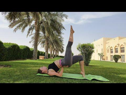 Yoga morning утренняя йога Emirates