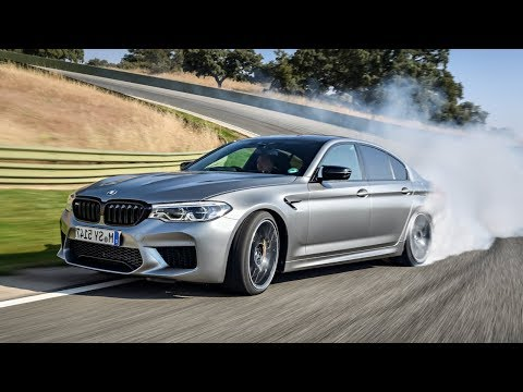 BMW M5 Competition (2019) : Drifting on A Racetrack !