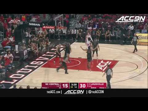 NC Central Vs. Louisville Men's Basketball Highlights (2019-20)