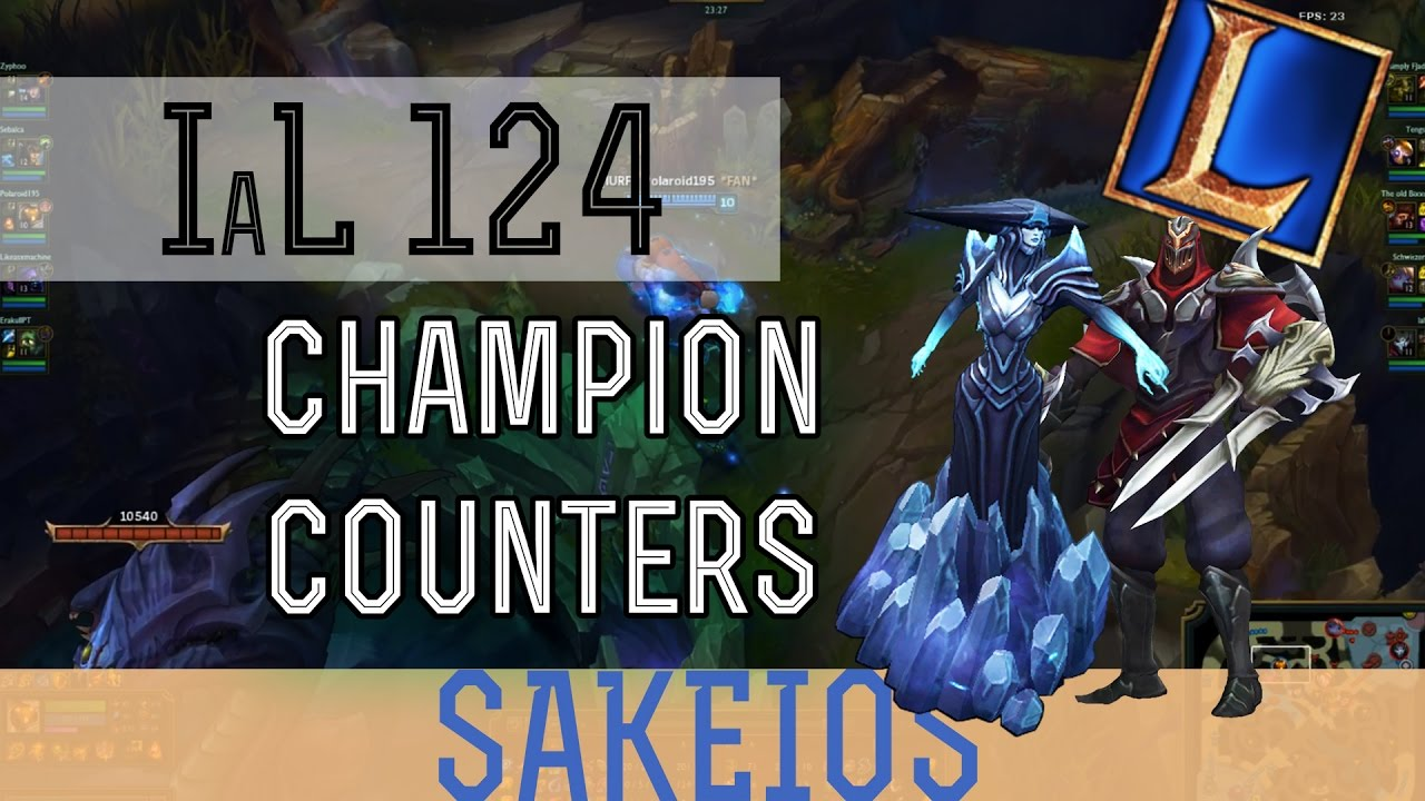 Champion Counters League Of Legends Guide Youtube