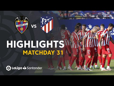 Levante Atletico Madrid Goals And Highlights
